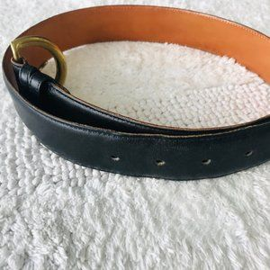 Coach Accessories - Coach Vintage 8500 Leather Belt w Brass Buckle Med